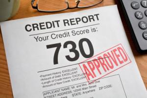 a bad credit score